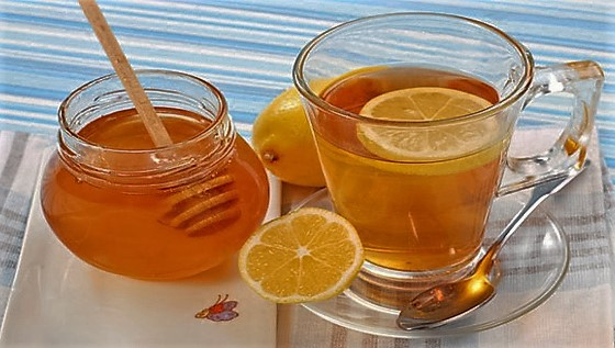 water honey lemon
